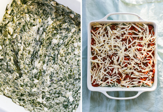 how to make spinach lasagna