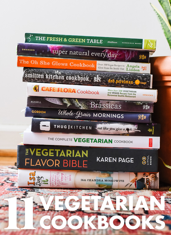 Looking for more meatless recipes? Find my go-to vegetarian cookbooks here! cookieandkate.com