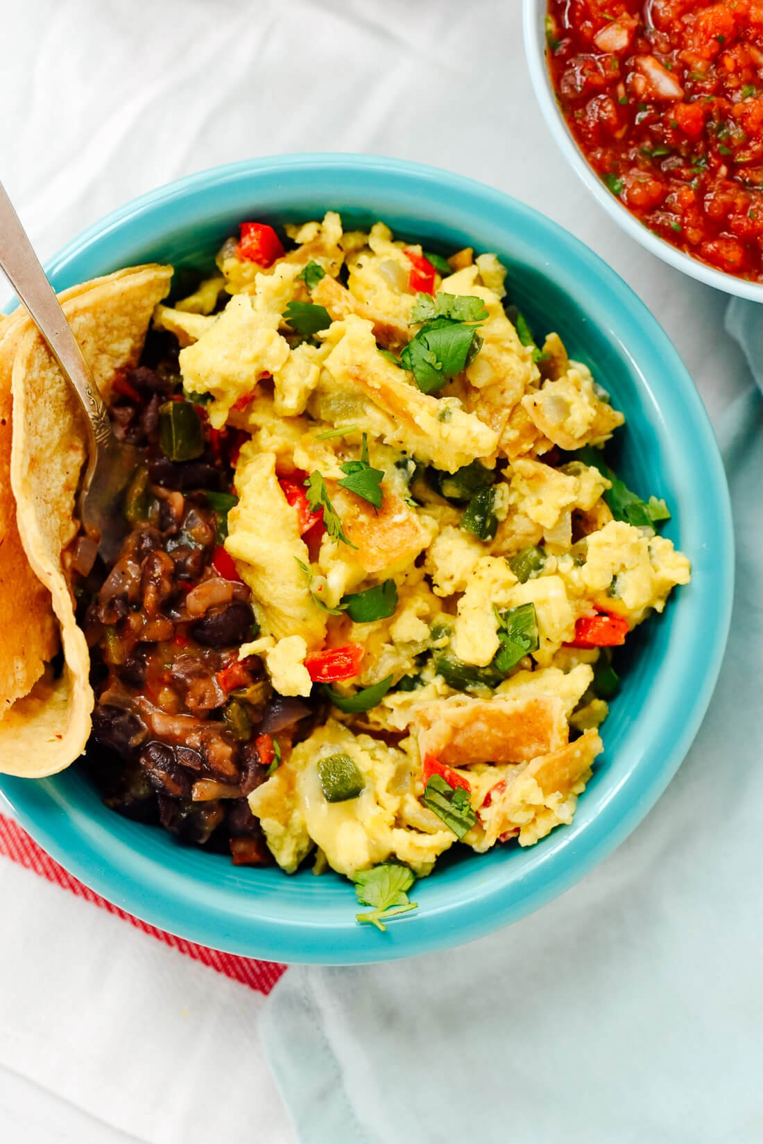 Austin-style migas recipe