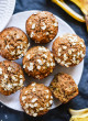 Healthy banana oat muffins recipe - cookieandkate.com