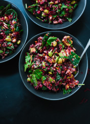 Reset with this colorful beet, carrot and edamame salad - cookieandkate.com