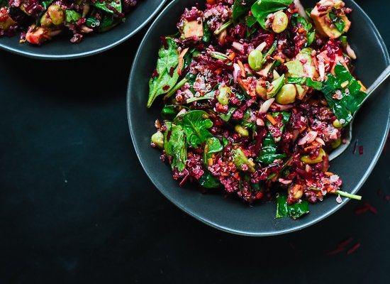 Healthy beet salad - cookieandkate.com