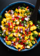 Super fresh and colorful mango salsa! cookieandkate.com