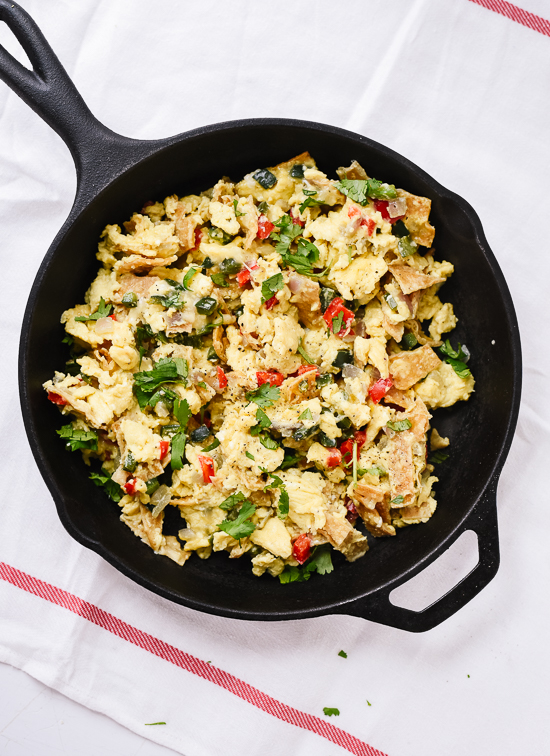Tex-mex migas recipe - cookieandkate.com