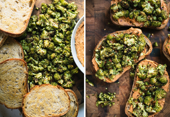 broccoli crostini