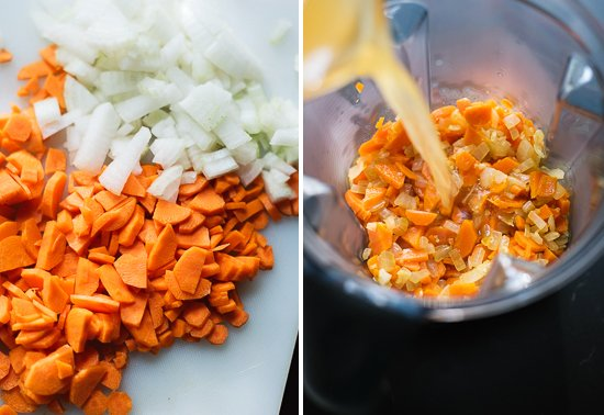 carrot queso