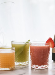 Aguas frescas with Vitamix - cookieandkate.com