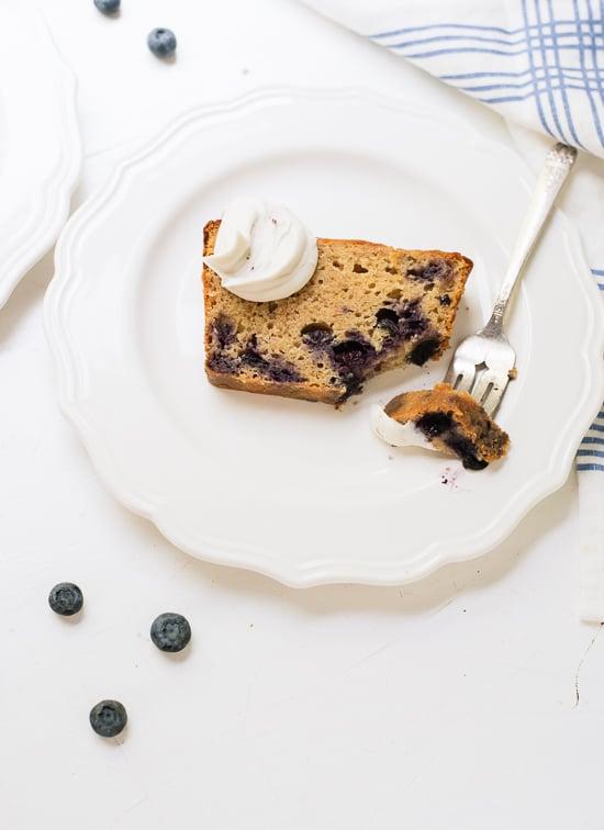 Blueberry lemon yogurt cake - cookieandkate.com