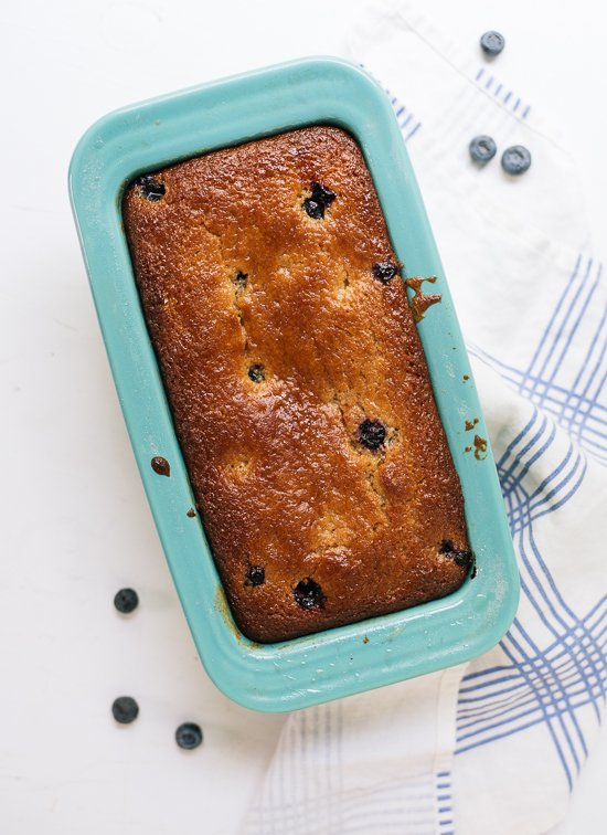 Blueberry lemon yogurt cake - cookieandkate.com