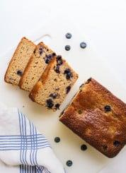 Blueberry lemon yogurt cake recipe - cookieandkate.com