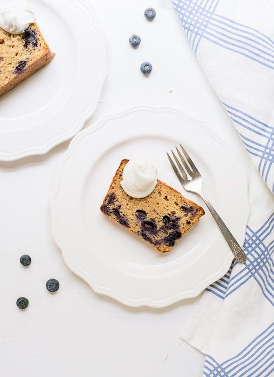 Blueberry lemon yogurt cake, a healthier pound cake for summertime ...