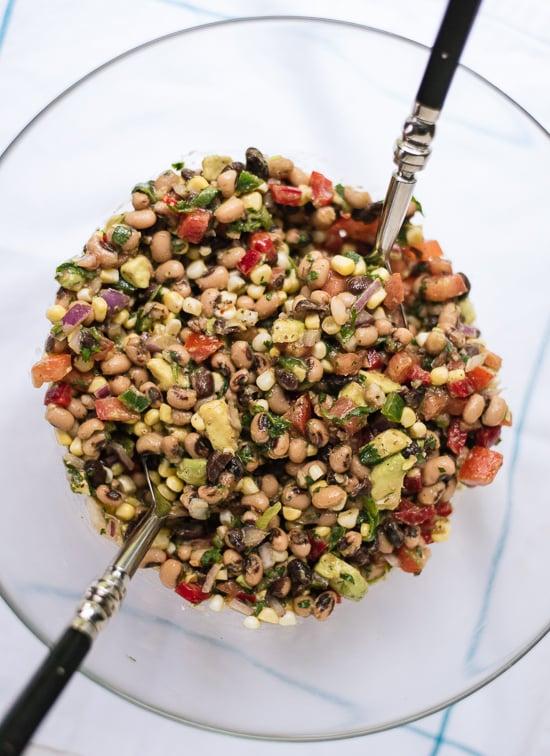 Enjoy this cowboy caviar as a dip, salsa or salad! cookieandkate.com