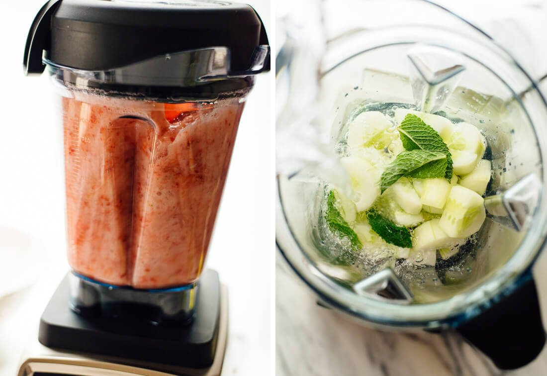 how to make agua frescas