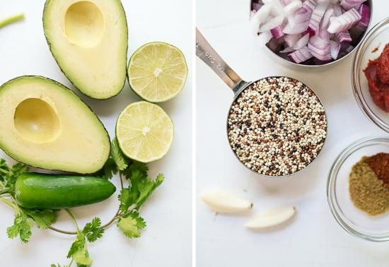 quinoa black bean tacos ingredients