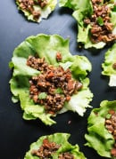 Thai-style lettuce wraps, a simple and healthy appetizer you'll love! cookieandkate.com
