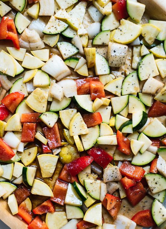balsamic roasted veggies