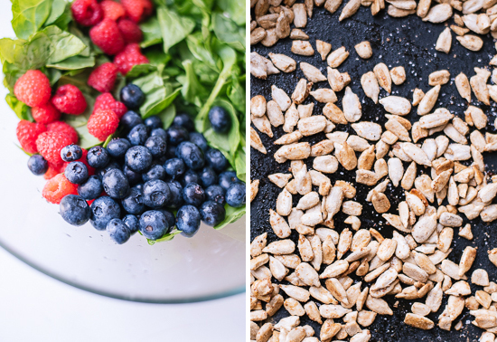 berry spinach salad ingredients