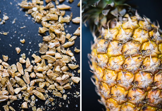 freekeh and pineapple