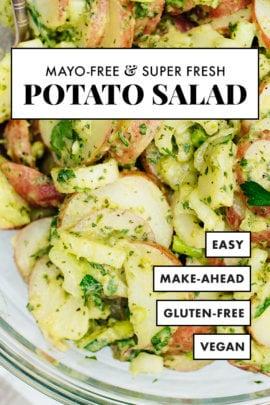 receta de ensalada de papa sin mayonesa