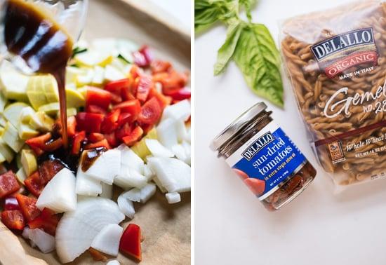 sun-dried tomato pesto pasta ingredients
