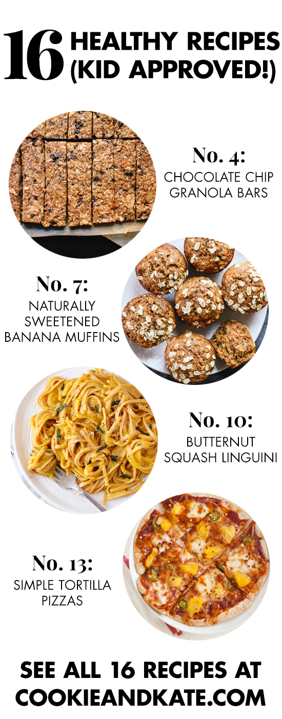 16 Healthy Recipes For Kids From Snacks To Dinner Dessert See Them All