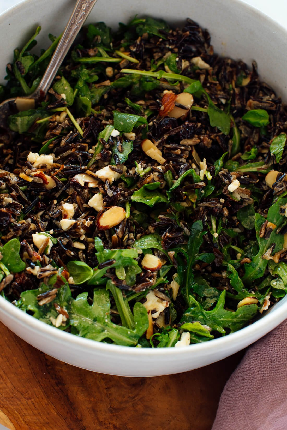 arugula wild rice dressing recipe for thanksgiving