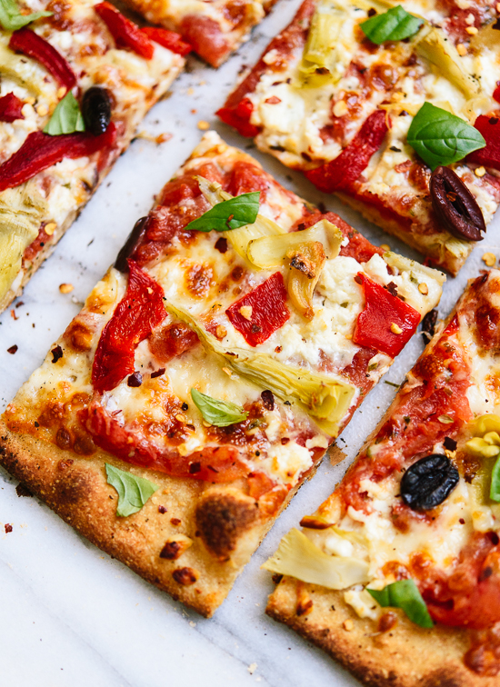Greek pizza recipe cookie and kate greek pizza forumfinder Images
