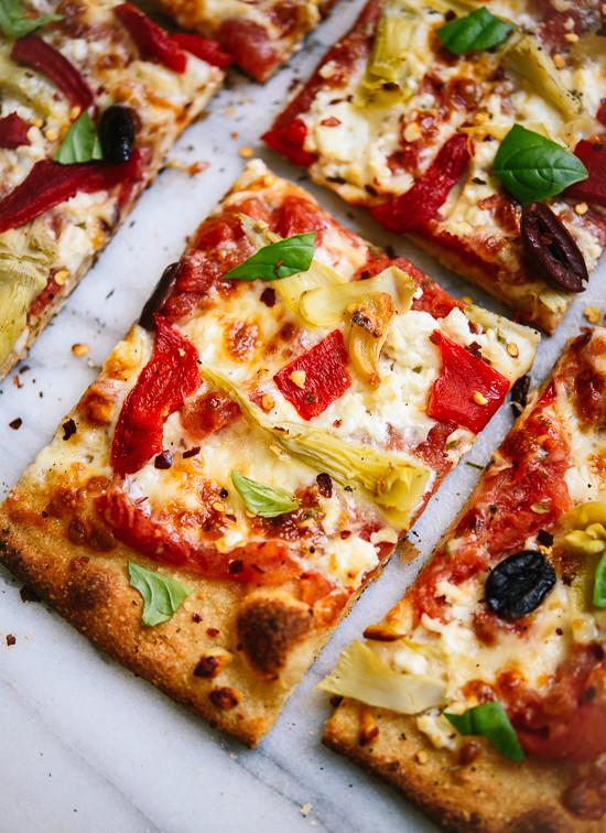 Homemade Greek pizza!