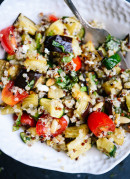 Healthy quinoa summer salad recipe - cookieandkate.com