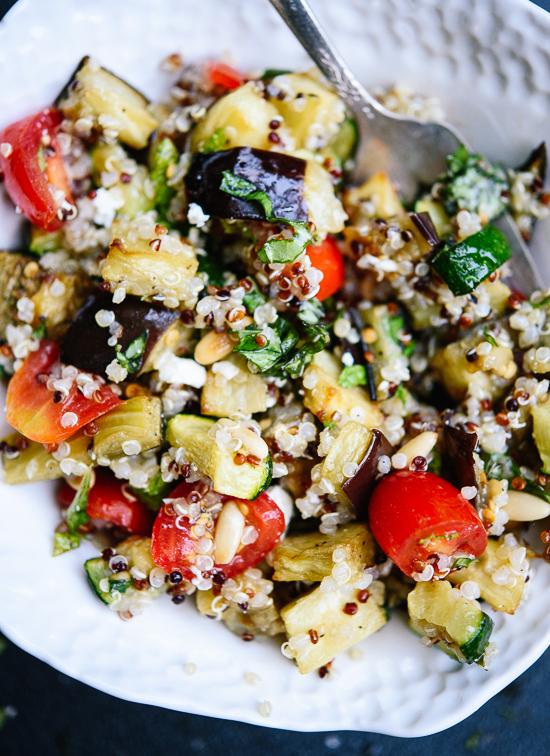 Healthy quinoa summer salad recipe - cookieandkate.com