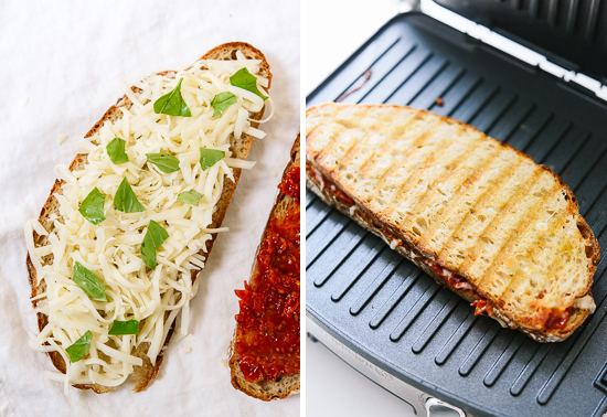 how to make tomato jam panini