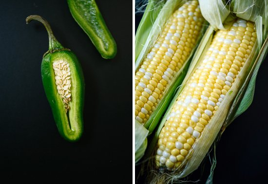 jalapeno and corn