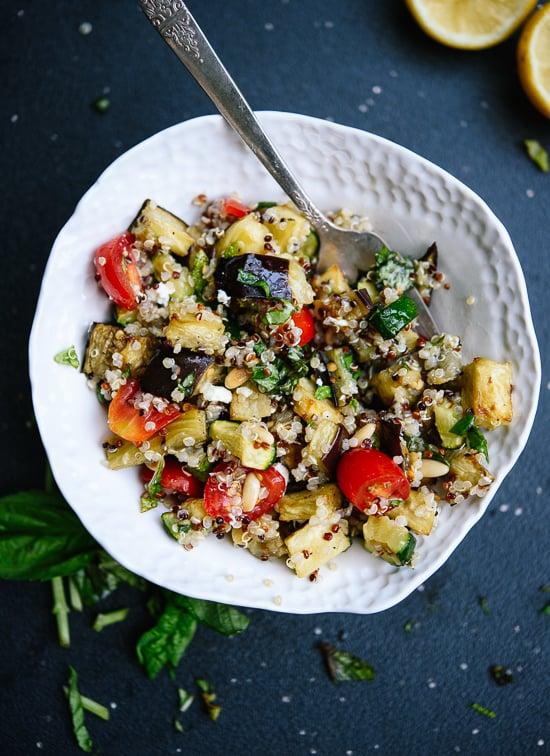 Mediterranean quinoa salad recipe - cookieandkate.com