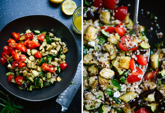 ratatouille quinoa salad