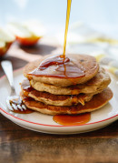 Apple Oatmeal Pancakes & News!!!