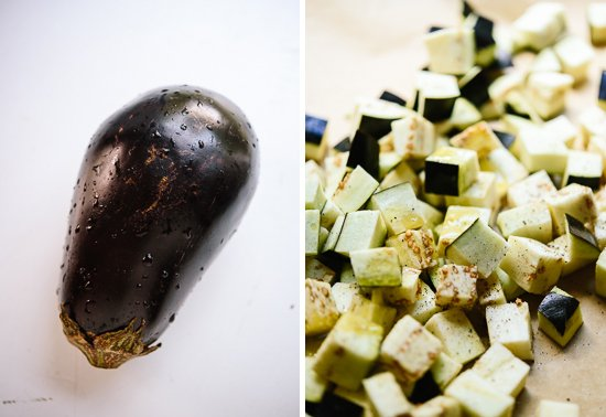 Eggplant feta pasta recipe