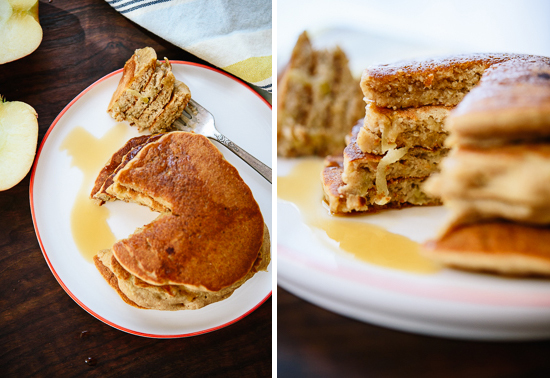 fluffy apple pancakes
