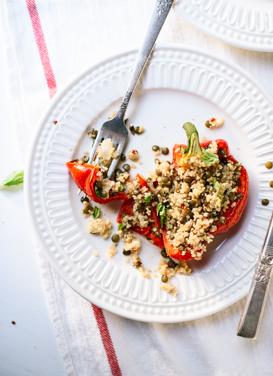 Healthy stuffed peppers! - cookieandkate.com