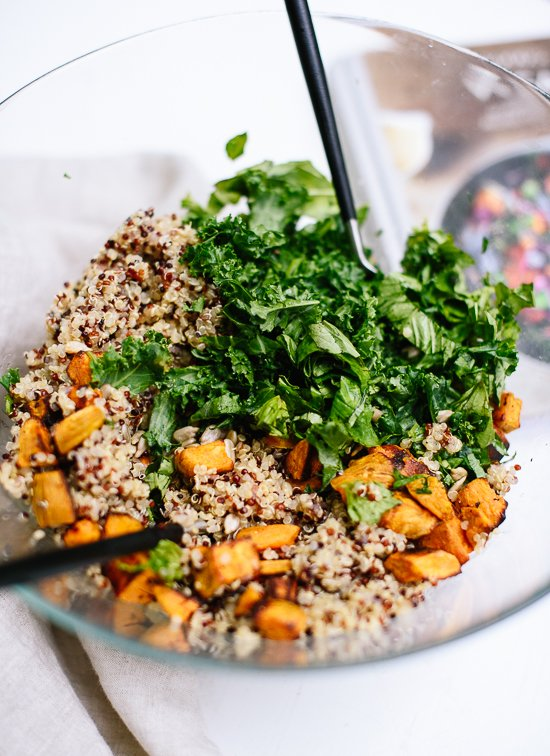 Quinoa salad from Food52's vegan cookbook - cookieandkate.com