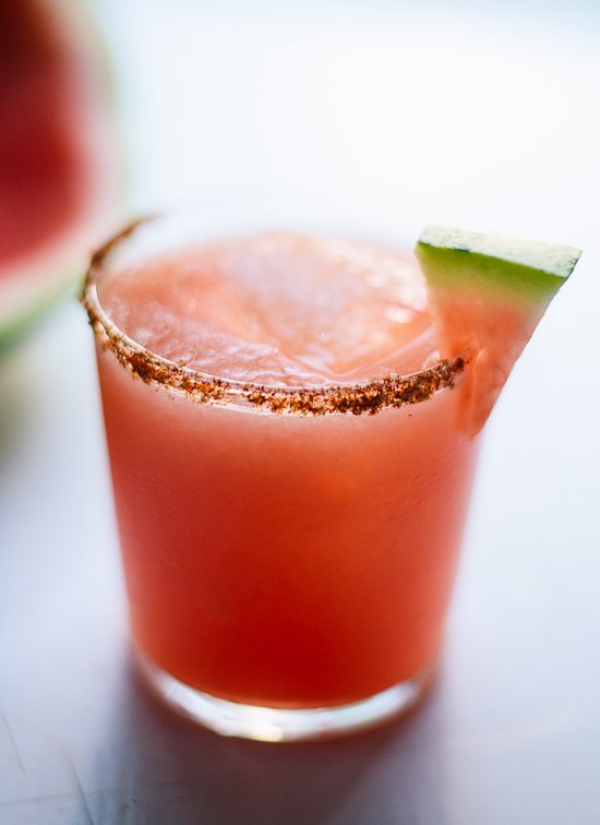 Spicy watermelon margarita recipe - cookieandkate.com