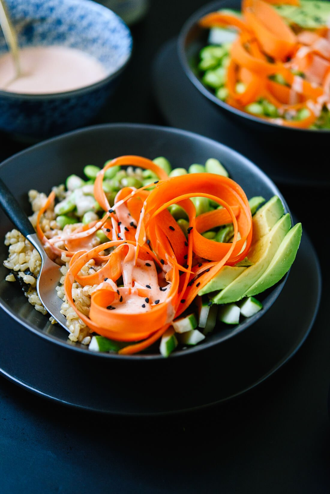 Vegetarian Sushi Bowls Recipe Cookie And Kate