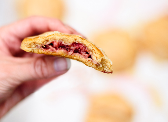 Raspberry hand pies - cookieandkate.com