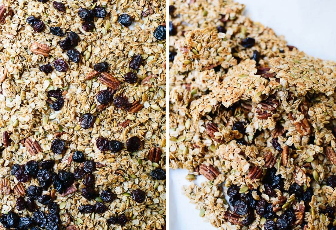 extra clumpy granola