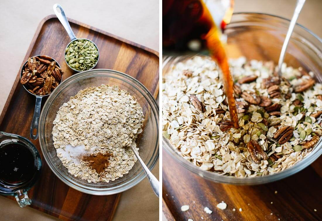 healthy granola ingredients