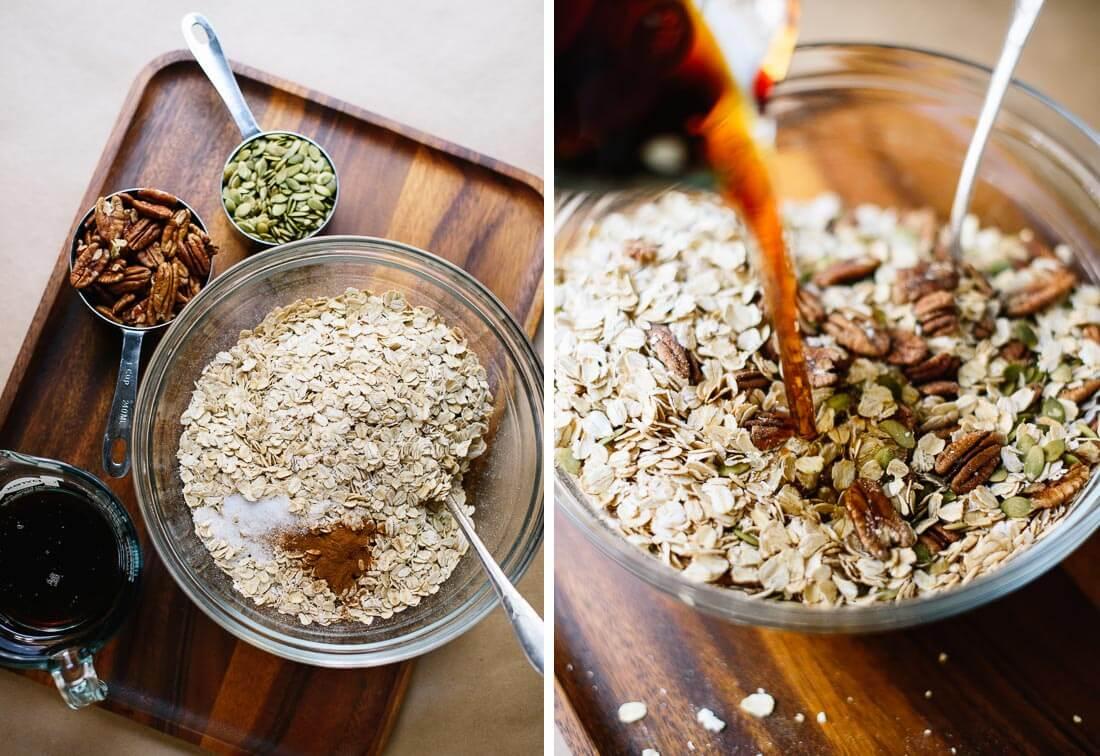 healthy granola ingredients