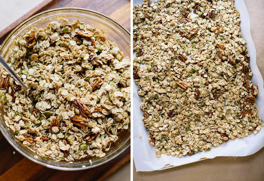 Healthy granola recipe cookie and kate how to make healthy granola ccuart Image collections