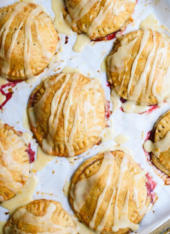 Raspberry hand pies - cookieandkate.com
