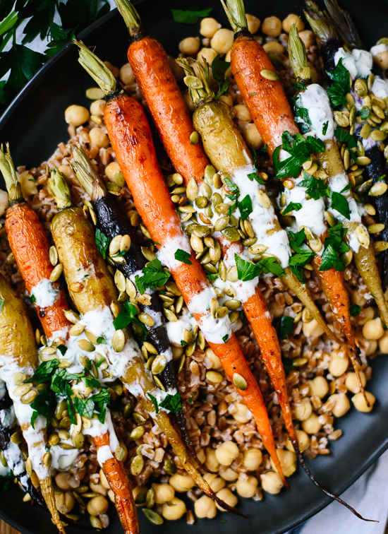 This gourmet roasted carrot dish is surprisingly easy to make ...