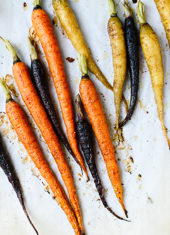 Roasted carrots - cookieandkate.com