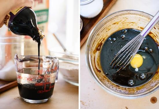 molasses and coconut oil